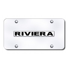 Buick Riviera Chrome on Chrome License Plate