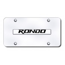 Kia Rondo Chrome and Chrome License Plate