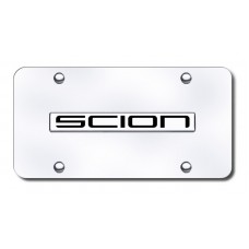 Toyota Scion Chrome on Chrome License Plate