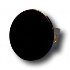 Solid Black Trailer Hitch Plug