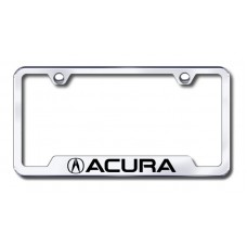 Acura Laser Etched Chrome Cut-Out License Plate Frame