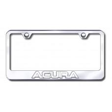Acura 3D Chrome on Chrome Metal License Plate Frame