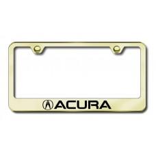 Acura Laser Etched Gold License Plate Frame