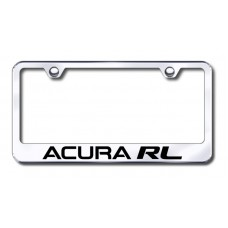Acura RL Laser Etched Stainless Steel License Plate Frame