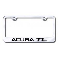 Acura TL Laser Etched Stainless Steel License Plate Frame