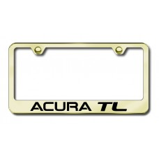 Acura TL Laser Etched Gold License Plate Frame