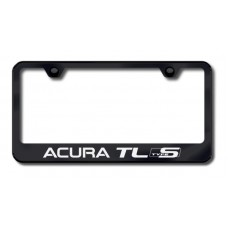 Acura TL Type-S Laser Etched Black License Plate Frame