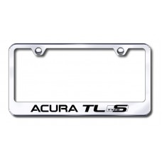 Acura TL Type S Laser Etched Chrome License Plate Frame