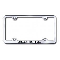 Acura TL Wide Body Laser Etched Chrome License Plate Frame