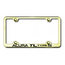 Acura TL S Wide Body Laser Etched Gold Frame