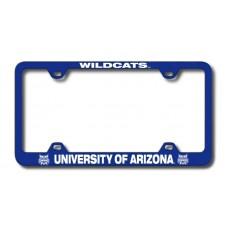 Arizona Wildcats Wide Body Blue License Plate Frame