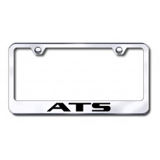 ATS Laser Etched Stainless Steel License Plate Frame