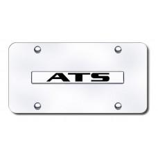 ATS Name Chrome on Chrome License Plate