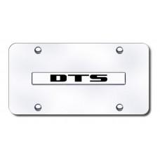 DTS Name Chrome on Chrome License Plate
