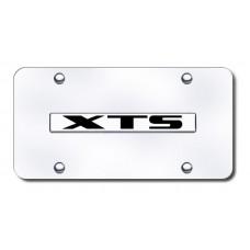 XTS Name Chrome on Chrome License Plate