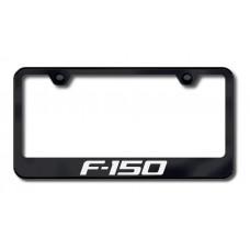 F-150 Laser Etched Black License Plate Frame