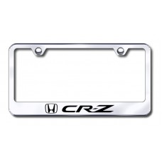CRZ Laser Etched Stainless Steel License Plate Frame