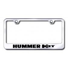 Hummer H3T Laser Etched Chrome License Plate Frame