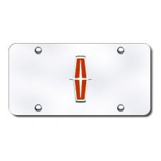 Lincoln New-Logo Chrome on Chrome License Plate