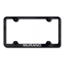 Murano Wide Body Laser Etched Frame - Black