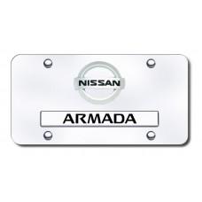 Dual (New) Logo Armada CHR/CHR License Plate