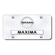 Dual Maxima (New) CHR/CHR License Plate