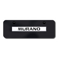 Murano Name CHR/BLK Mini License Plate