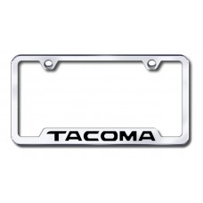 Tacoma Laser Etched Chrome Cut-Out License Plate Frame