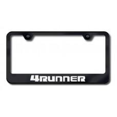 4Runner Laser Etched Black License Plate Frame