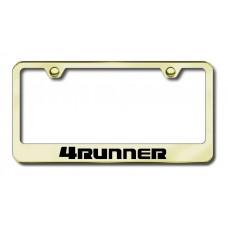 4Runner Laser Etched Gold License Plate Frame