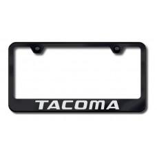 Tacoma Laser Etched Black License Plate Frame