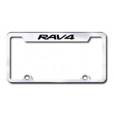 Rav4 Engraved Chrome Truck License Plate Frame