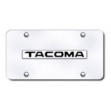 Tacoma Name Chrome on Chrome License Plate