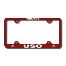 USC Trojans Wide Body Red License Plate Frame