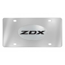Acura - Zdx - Chrome Plated Emblem  Attached To A Stainless Steel Plate