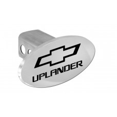 Chevrolet - Uplander - With New Bowtie - Chrome Plated Brass Oval Hitch Cover W/ 2' Rec. - W/Components