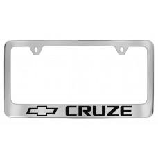 Chevrolet -Cruze  W / 1 Logo - Chrome Plated Brass Frame