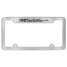 Chevrolet - Malibu - Top  Engraved - Chrome Plated Brass Frame