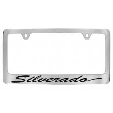 Chevrolet - Silverado - Chrome Plated Brass Frame