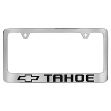 Chevrolet - Tahoe W / 1 Logo - Chrome Plated Brass Frame