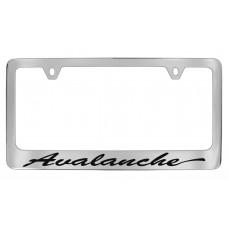 Chevrolet - Avalanche - Chrome Plated Brass Frame