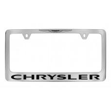Chrysler - New Logo On Top - Chrome Plated Brass