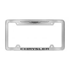 Chrysler - Bottom - New Chrysler Logo Top - Chrome Plated Brass