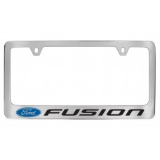 Ford - Fusion  W / 1 Logo - Chrome Plated Brass
