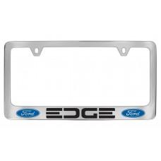 Ford - Edge  W / 2 Logos - Chrome Plated Brass