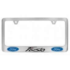 Ford - Fiesta  W / 2 Logos - Chrome Plated Brass