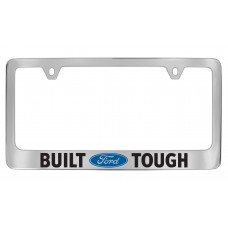 Ford - Built For Tough With 1 / Logo - Chrome Plated Brass