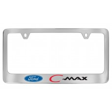 Ford - C-Max - Custom - Chrome Plated Brass  - Red C  Black Max