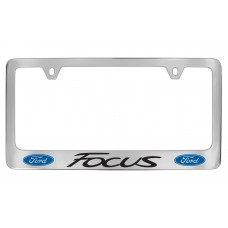 Ford - Focus  W / 2 Logos - Chrome Plated Brass