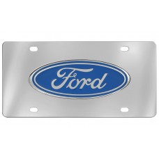 Ford - Ford Logo Attached To Stainless Steel Plate